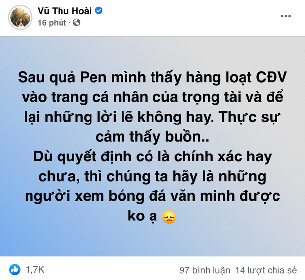 Netizen phản ứng với quyết định của trọng tài trận Việt Nam - UAE, bồ cũ Quang Hải cũng dõng dạc lên tiếng - Ảnh 8.