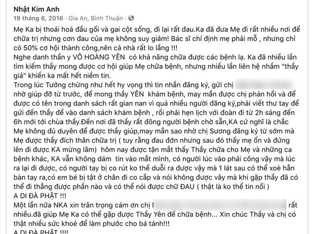 Nhật Kim Anh bị netizen đào lại hình ảnh nghi vấn PR trá hình cho ông Võ Hoàng Yên 5 năm trước, có đủ bằng chứng rõ ràng? - Ảnh 2.