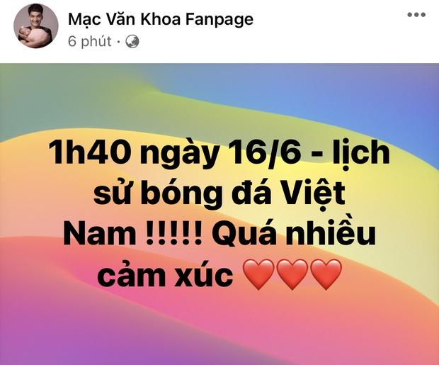 2h sáng dàn sao Việt vẫn xem đến phút cuối, vỡ oà vì kết quả của tuyển Việt Nam: Chúng ta thua 1 trận đấu nhưng làm nên lịch sử! - Ảnh 14.