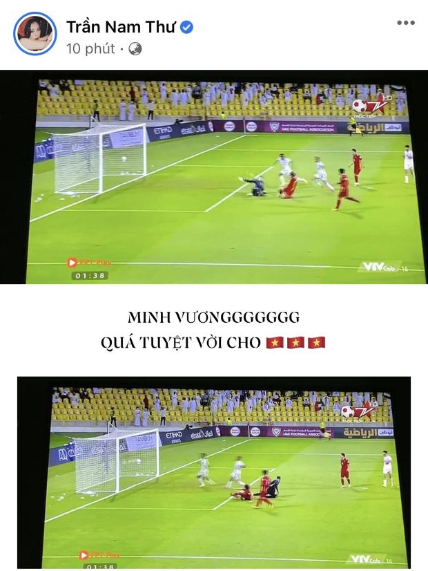 2h sáng dàn sao Việt vẫn xem đến phút cuối, vỡ oà vì kết quả của tuyển Việt Nam: Chúng ta thua 1 trận đấu nhưng làm nên lịch sử! - Ảnh 13.