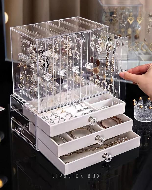 """Nhiều hộp đựng trang sức xịn mịn giá rất """"iu"""", chị em tội gì không mua để decor góc làm đẹp - Ảnh 13."""