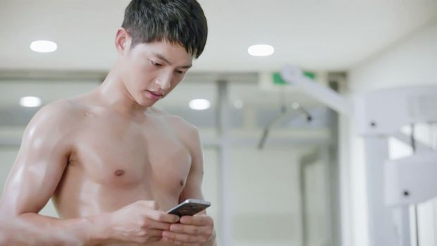 7 màn khoe body siêu mlem của nam thần màn ảnh Hàn, siêng cởi cỡ Park Seo Joon thì ai chịu cho nổi! - Ảnh 6.