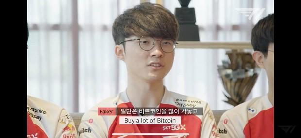 Ước muốn tham lam của Faker, quay lại quá khứ và mua thật nhiều Bitcoin? - Ảnh 2.