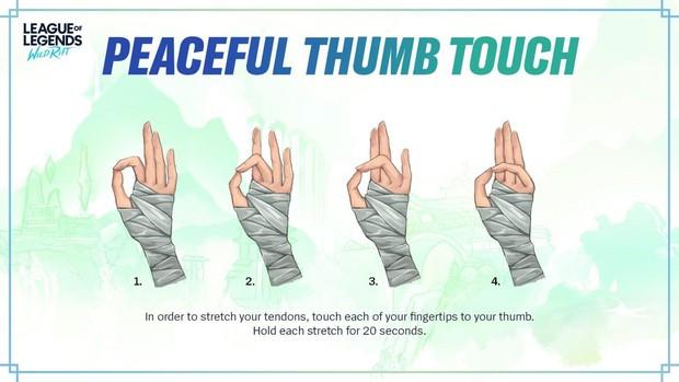 Sợ game thủ mỏi tay vì chơi quá nhiều, LMHT Tốc Chiến giới thiệu luôn bài tập yoga tay - Ảnh 5.