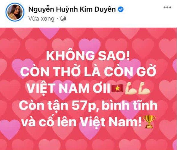 90 phút cảm xúc lên xuống của sao Việt khi xem Việt Nam - UAE: Hiệp 1 lo lắng động viên, hiệp 2 hồi hộp đến vỡ oà vui sướng! - Ảnh 6.