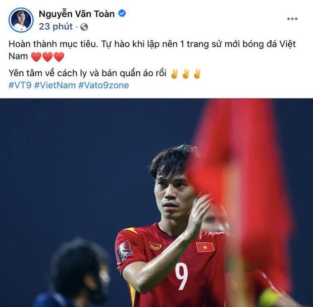 Chủ tịch Văn Toàn có chia sẻ đầu tiên sau trận đấu với UAE: Yên tâm về cách ly và bán quần áo rồi - Ảnh 1.