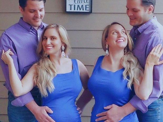 Chị em sinh đôi cưới anh em sinh đôi rồi sinh con cùng một lúc, ngoại hình của 2 em bé gây tò mò bao lâu ra sao? - Ảnh 3.