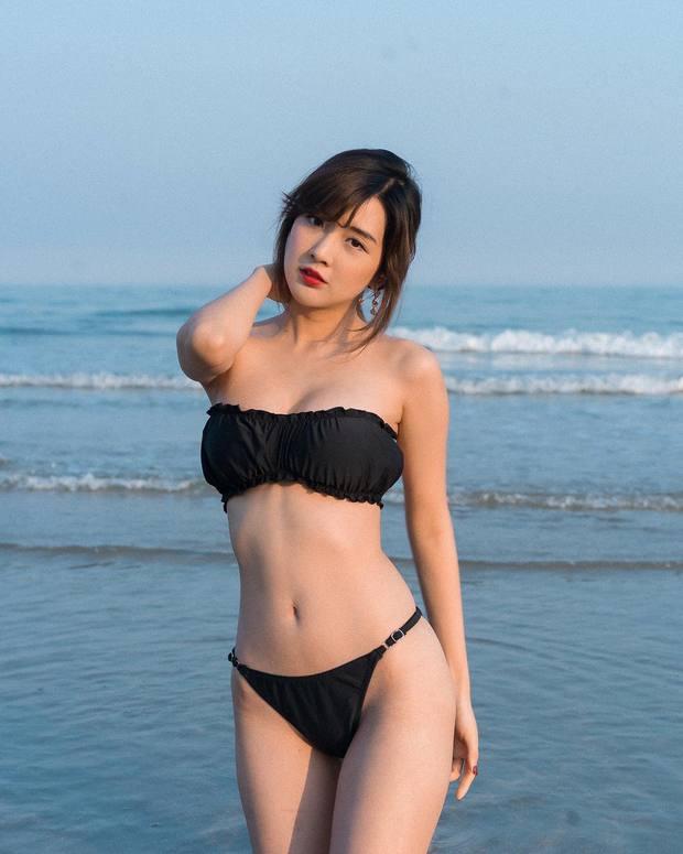 Nữ streamer Thái Lan chơi lớn, đăng ảnh buông lơi khiến dân tình được phen chảy máu mũi - Ảnh 3.