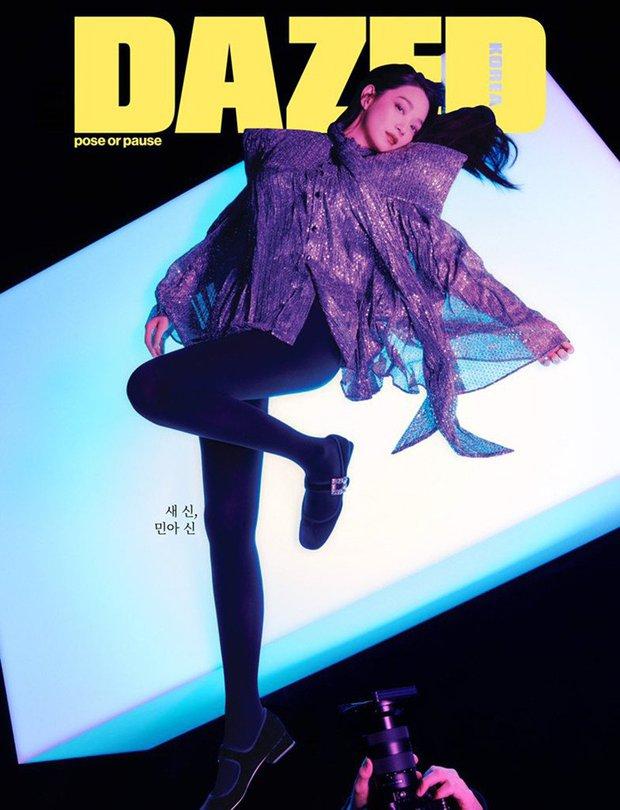 Shin Min Ah bùng nổ visual trong ảnh tạp chí đầu tiên sau tin kết hôn với Kim Woo Bin, nhìn body đúng kiểu toàn chân phái - Ảnh 2.