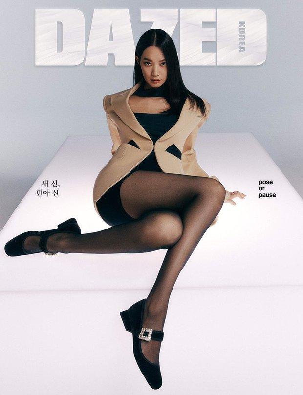 Shin Min Ah bùng nổ visual trong ảnh tạp chí đầu tiên sau tin kết hôn với Kim Woo Bin, nhìn body đúng kiểu toàn chân phái - Ảnh 3.