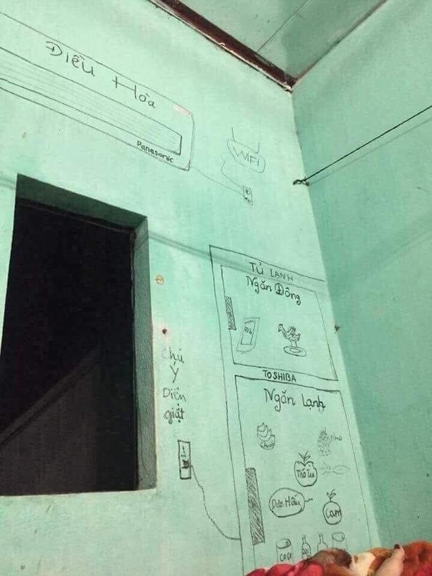 Hết hồn phòng trọ được review chuẩn 5 sao, có đầy đủ tủ lạnh - điều hòa, thực tế bên trong khiến khối người chạy mất dép! - Ảnh 1.
