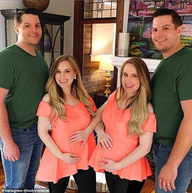 Chị em sinh đôi cưới anh em sinh đôi rồi sinh con cùng một lúc, ngoại hình của 2 em bé gây tò mò bao lâu ra sao? - Ảnh 4.