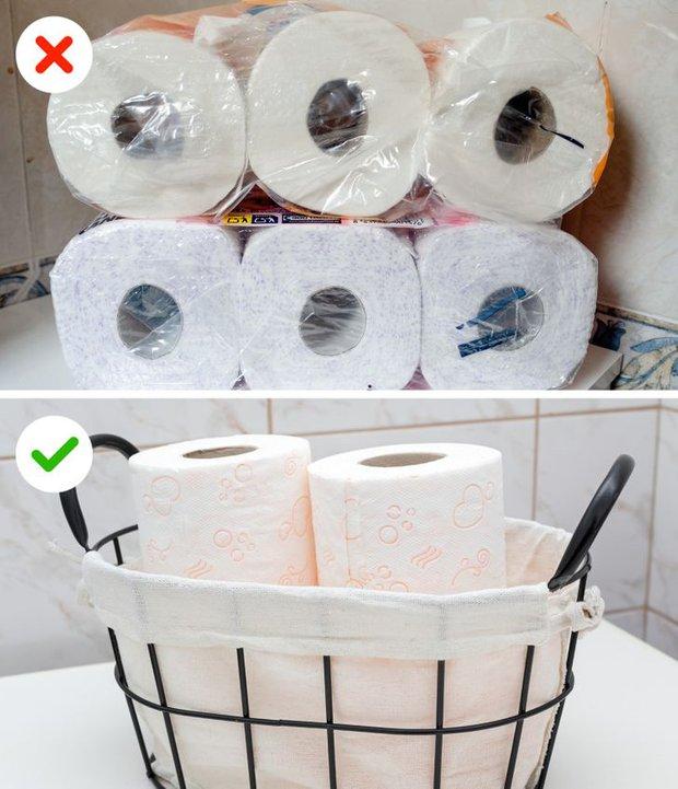 11 sai lầm dễ mắc biến phòng tắm nhà bạn thành một mớ hỗn độn kém sang - Ảnh 7.