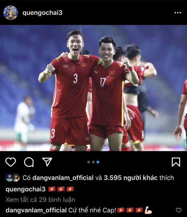 Phản ứng của 2 thủ môn nổi tiếng khi Việt Nam đá vòng loại: Văn Lâm đi comment khắp nơi, Bùi Tiến Dũng im hơi lặn mất tăm - Ảnh 4.