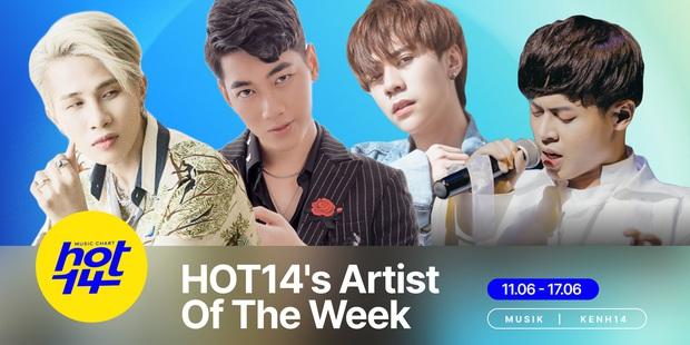 K-ICM tiến thẳng top 3, đánh bại Quang Hùng MasterD để giành lấy vị trí Á quân HOT14s Artist Of The Week? - Ảnh 2.