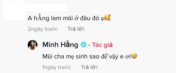 Nhan sắc khác lạ khiến netizen nghi sửa mũi, Minh Hằng lên tiếng khẳng định chắc nịch bằng 1 câu! - Ảnh 3.