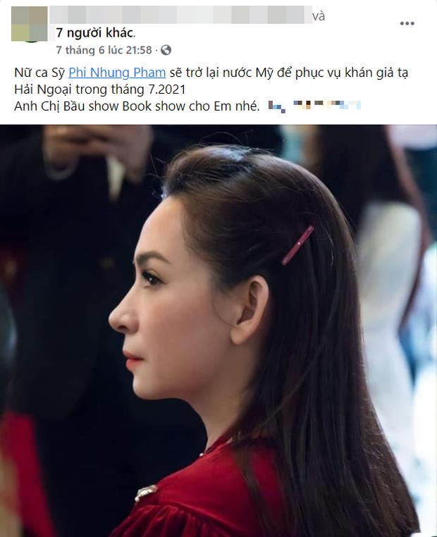 Rộ tin Phi Nhung sẽ sang Mỹ vào tháng tới, tưởng liên quan đến loạt scandal với Hồ Văn Cường nhưng lý do thật sự là gì? - Ảnh 4.