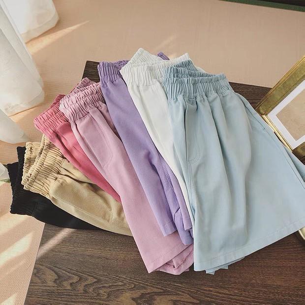 """Sắm quần short cạp chun mặc hè là """"bao mát"""", nhiều mẫu xinh mà giá chỉ từ 140k - Ảnh 11."""