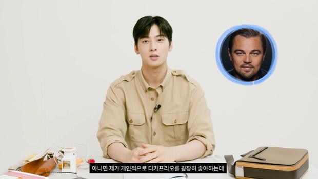 Cha Eun Woo tiết lộ muốn đóng phim giống tài tử Titanic, netizen cà khịa cứ diễn bớt đơ đi đã - Ảnh 3.