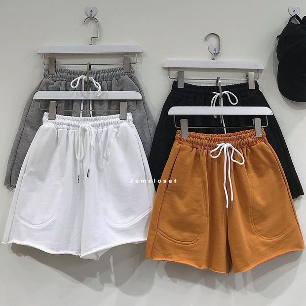 """Sắm quần short cạp chun mặc hè là """"bao mát"""", nhiều mẫu xinh mà giá chỉ từ 140k - Ảnh 3."""