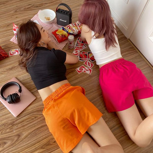 """Sắm quần short cạp chun mặc hè là """"bao mát"""", nhiều mẫu xinh mà giá chỉ từ 140k - Ảnh 13."""