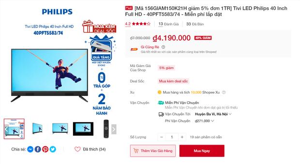 """3 mẫu tivi đang được giảm giá đến 40%, không """"chốt đơn"""" bây giờ thì đợi đến bao giờ? - Ảnh 10."""