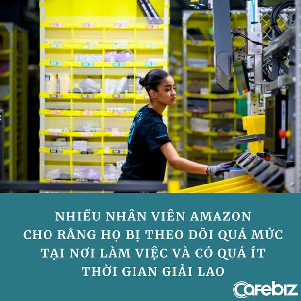 Bóc trần sự thật làm việc như mơ ở Amazon: Nhân viên bị kiểm soát 24/24 vì Jeff Bezos tin rằng ai rồi cũng lười thôi - Ảnh 2.