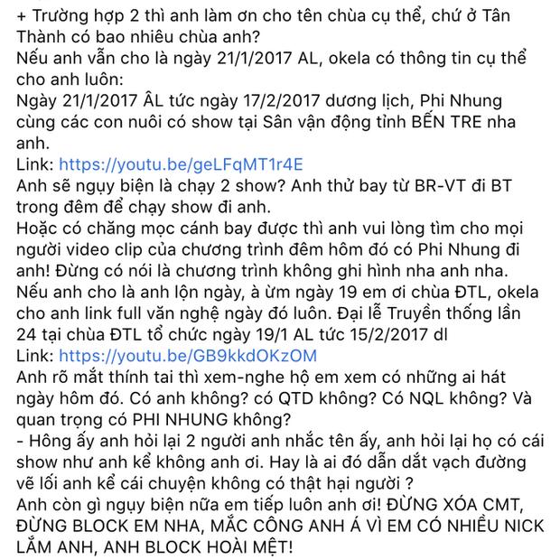 Lưu Chấn Long cuối cùng đã tung bằng chứng xác thực vụ Phi Nhung hét giá cát-xê cắt cổ, thách nữ ca sĩ khởi kiện - Ảnh 4.