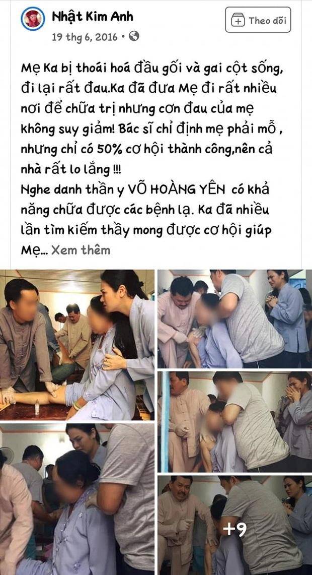 Bị chỉ trích không dám công khai nói sự thật về ông Võ Hoàng Yên, Nhật Kim Anh đính chính ra sao? - Ảnh 5.