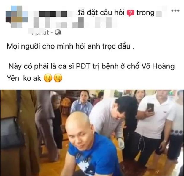 Rộ ảnh nghi vấn Phan Đinh Tùng đang được thần y Võ Hoàng Yên chữa thoát vị đĩa đệm, còn khen rối rít trên Facebook? - Ảnh 2.