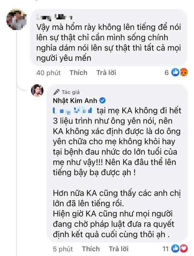 Bị chỉ trích không dám công khai nói sự thật về ông Võ Hoàng Yên, Nhật Kim Anh đính chính ra sao? - Ảnh 2.