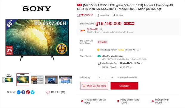 """3 mẫu tivi đang được giảm giá đến 40%, không """"chốt đơn"""" bây giờ thì đợi đến bao giờ? - Ảnh 2."""