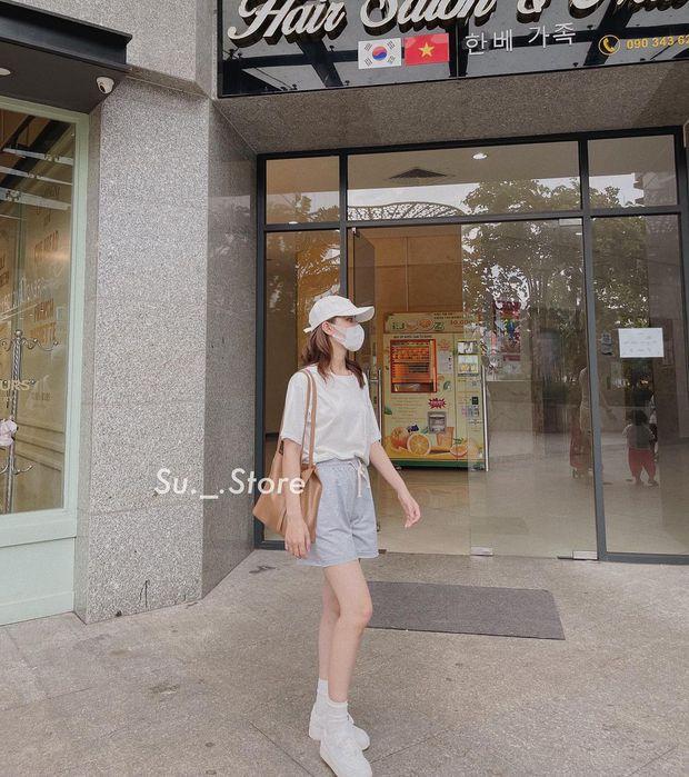 """Sắm quần short cạp chun mặc hè là """"bao mát"""", nhiều mẫu xinh mà giá chỉ từ 140k - Ảnh 1."""