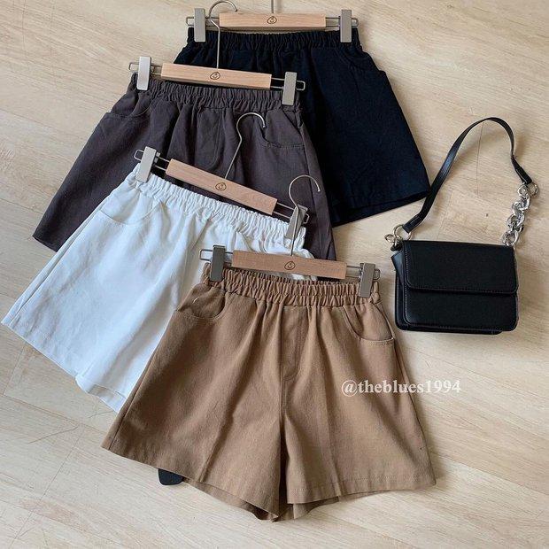 """Sắm quần short cạp chun mặc hè là """"bao mát"""", nhiều mẫu xinh mà giá chỉ từ 140k - Ảnh 5."""