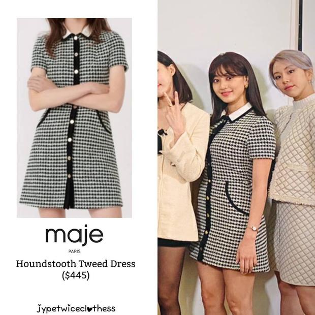 Jihyo (TWICE) diện chung áo với mẫu hãng nhưng chiếm sóng nhờ 1 chi tiết mlem hơn hẳn - Ảnh 4.
