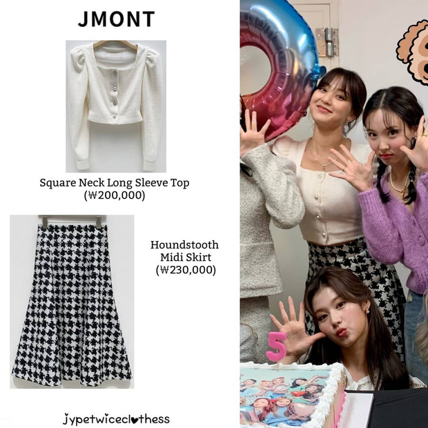 Jihyo (TWICE) diện chung áo với mẫu hãng nhưng chiếm sóng nhờ 1 chi tiết mlem hơn hẳn - Ảnh 10.