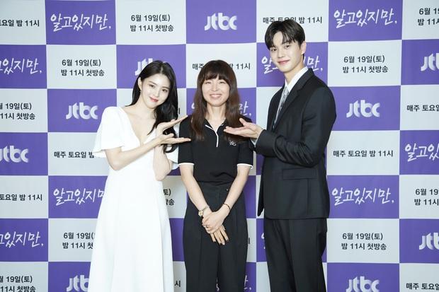 """Tiểu tam Han So Hee e ấp vòng 1 sánh đôi bên nam thần mới nổi, combo nhân đôi visual làm khán giả phải """"gào thét"""" - Ảnh 8."""