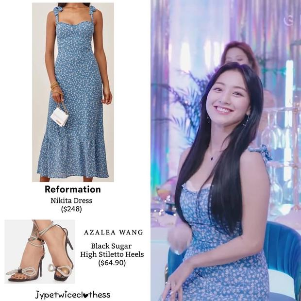 Jihyo (TWICE) diện chung áo với mẫu hãng nhưng chiếm sóng nhờ 1 chi tiết mlem hơn hẳn - Ảnh 5.