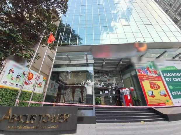 TP.HCM: Phong tỏa tạm thời một tòa nhà trên đường Nguyễn Đình Chiểu, quận 1 - Ảnh 1.