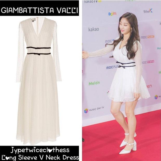 Jihyo (TWICE) diện chung áo với mẫu hãng nhưng chiếm sóng nhờ 1 chi tiết mlem hơn hẳn - Ảnh 9.