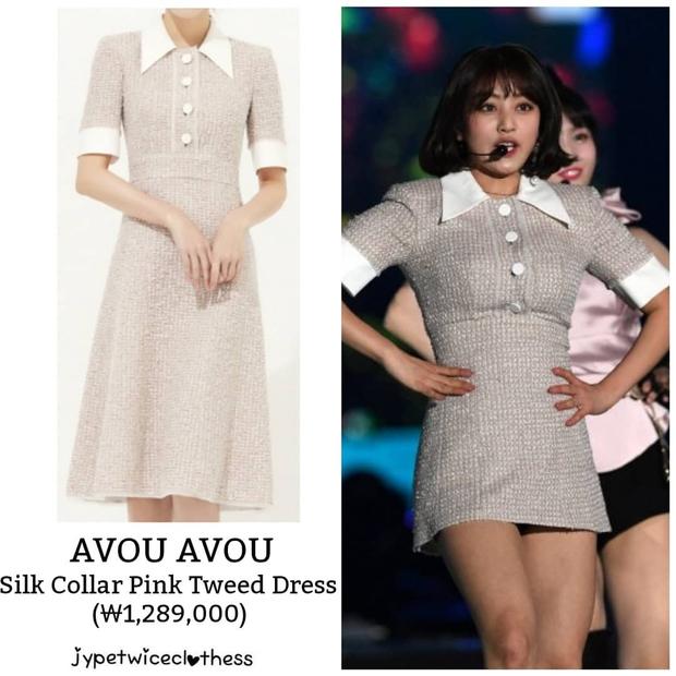 Jihyo (TWICE) diện chung áo với mẫu hãng nhưng chiếm sóng nhờ 1 chi tiết mlem hơn hẳn - Ảnh 3.