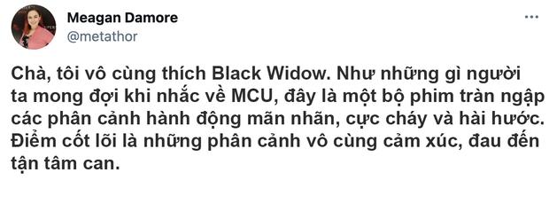 Bom tấn Black Widow được khen tới tấp, Marvel ghi điểm vì mức độ cháy khét lẹt của dàn mỹ nhân - Ảnh 5.