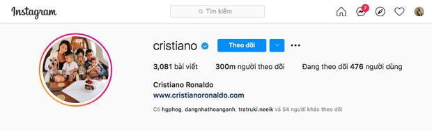 Sau màn cà khịa Coca Cola gây chấn động, Ronaldo hút lượng follow khủng, tự phá luôn kỷ lục của chính mình trên Instagram - Ảnh 4.