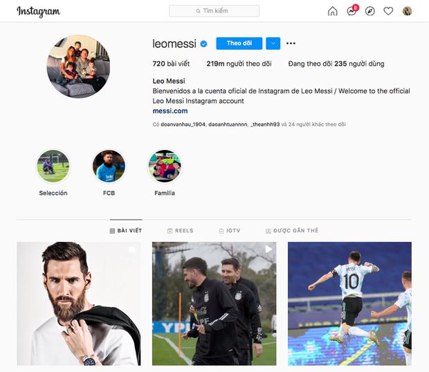 Thi đấu xuất sắc, Ronaldo phá kỷ lục của chính mình trên Instagram với 300 triệu follower, vậy Messi vị trí nào? - Ảnh 2.