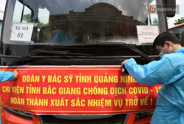 Đoàn y bác sĩ Quảng Ninh hoàn thành nhiệm vụ chi viện cho tâm dịch Bắc Giang, nhận bằng khen của Thủ tướng Chính phủ - Ảnh 9.