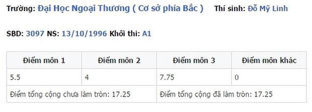 Điểm thi đại học của dàn sao Việt: Sơn Tùng M-TP thủ khoa, Tóc Tiên thủ khoa, riêng 1 Hoa hậu trung bình môn dưới 5 điểm gây sốc - Ảnh 9.