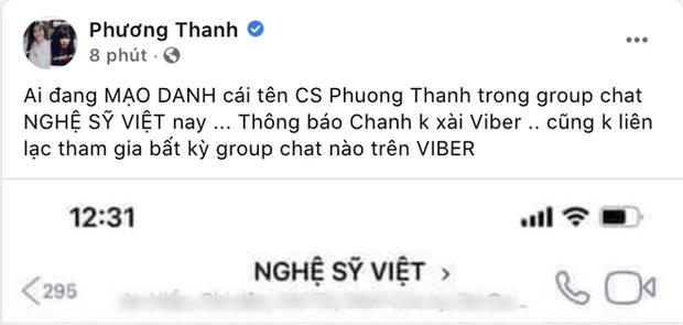 """Cú twist bất ngờ: 5 lần 7 lượt phủ nhận cuối cùng Phương Thanh cũng thừa nhận có tồn tại nhóm chat """"Nghệ sĩ Việt""""? - Ảnh 4."""