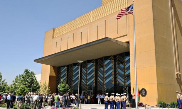 Đại sứ quán Mỹ tại Afghanistan bị phong tỏa do bùng phát Covid-19 - Ảnh 1.