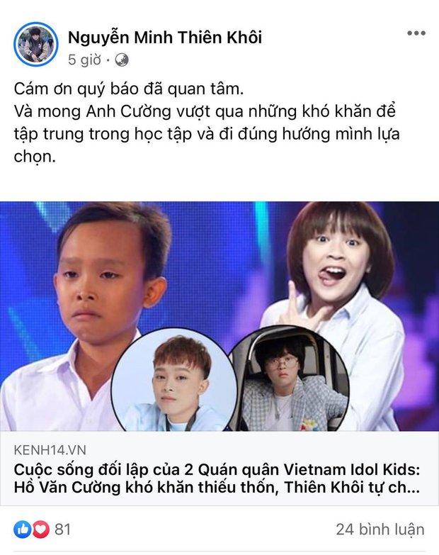Bị gọi tên so sánh cuộc sống đối lập với Hồ Văn Cường, quán quân Vietnam Idol Kids 2017 có phản ứng và câu nói gây chú ý! - Ảnh 3.