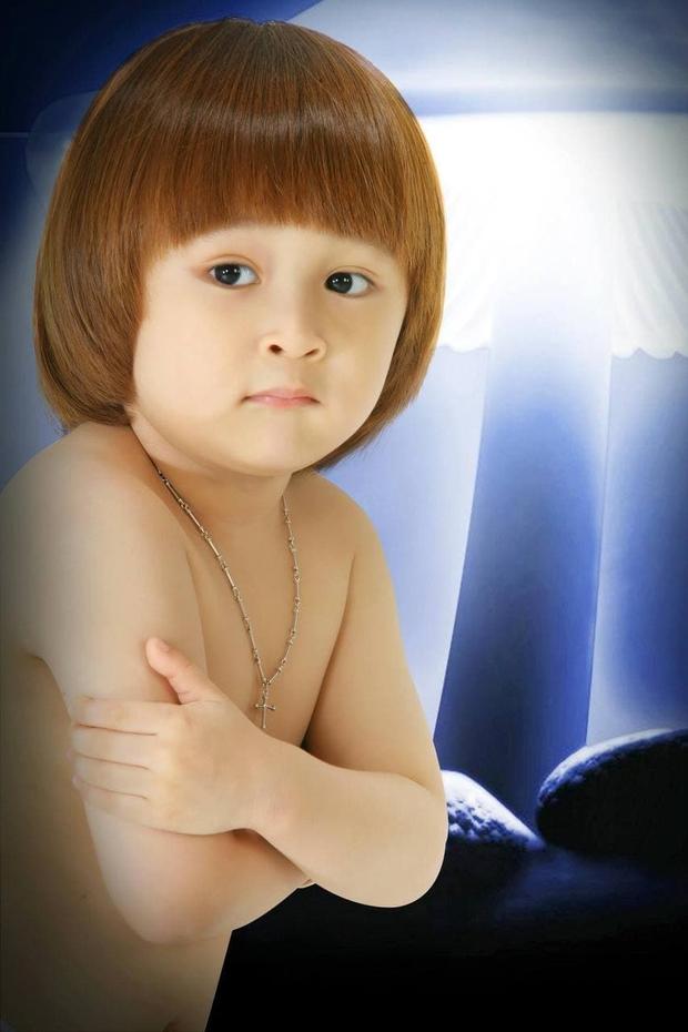 Thiên Khôi - Cậu bé tóc Maika đáng yêu năm nào còn crush Phương Ly giờ đã lớn phổng phao - Ảnh 1.